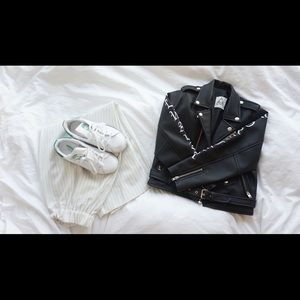UNIF clothing leather jacket XS